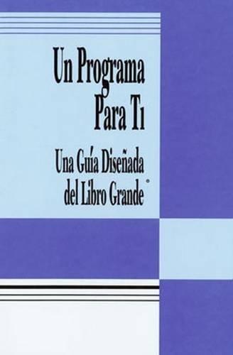 Un Programa Para Ti: Una Guia Disenada del Libro Grande (Spanish Edition)