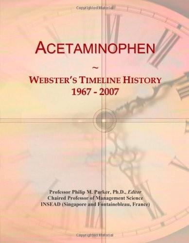 Acetaminophen: Webster's Timeline History, 1967 - 2007